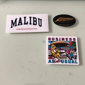 brandy melville sticker pack